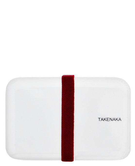 White: Lacquer Bento Box in White - LEIF