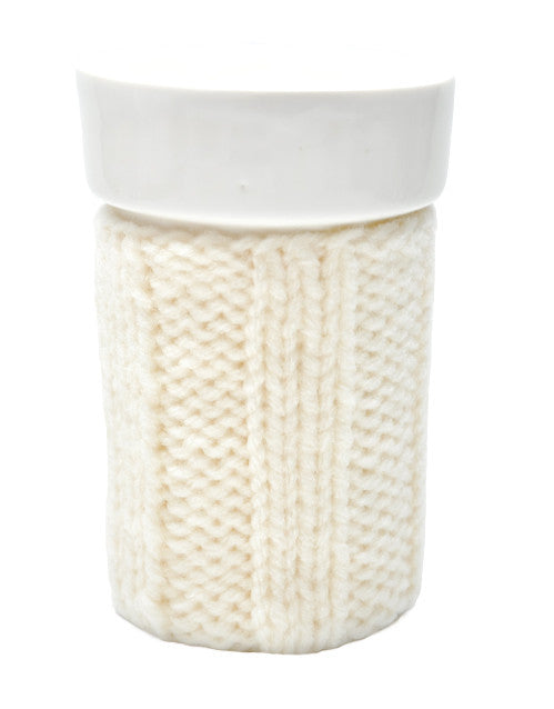 Large Knit Cozy Mug - LEIF