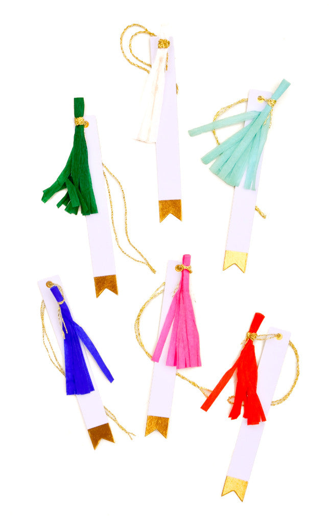 Tassel Gift Tags - LEIF