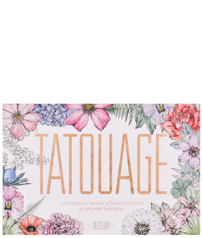 Tatouage Botanical Temporary Tattoos