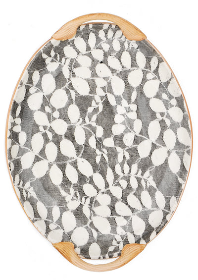 Pressed Pattern Serving Tray