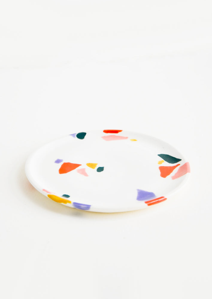 Terrazzo Shapes Mini Dish in Warm Colors - LEIF