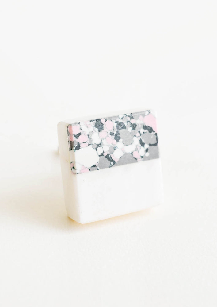 Terrazzo Marble Mix Knob in  - LEIF