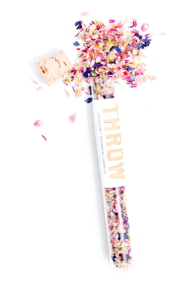 Throw Botanical Confetti