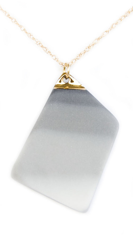 Mist Necklace in Grey - LEIF