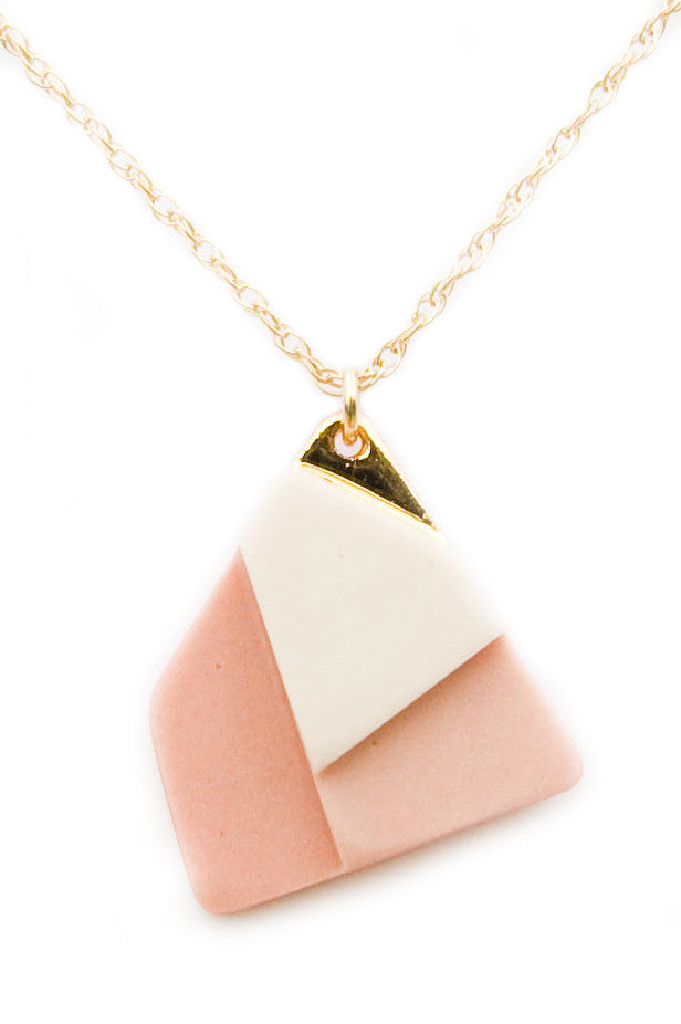 Fields Necklace in Salmon - LEIF