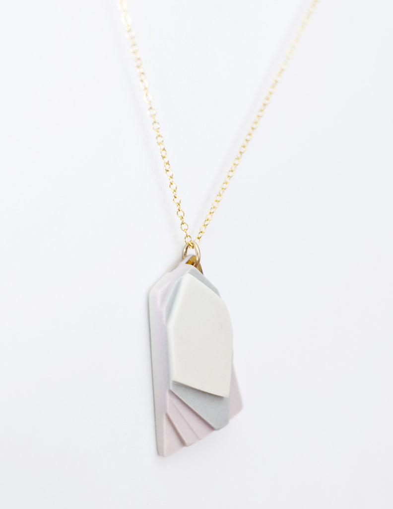 Fields Necklace in Lilac - LEIF