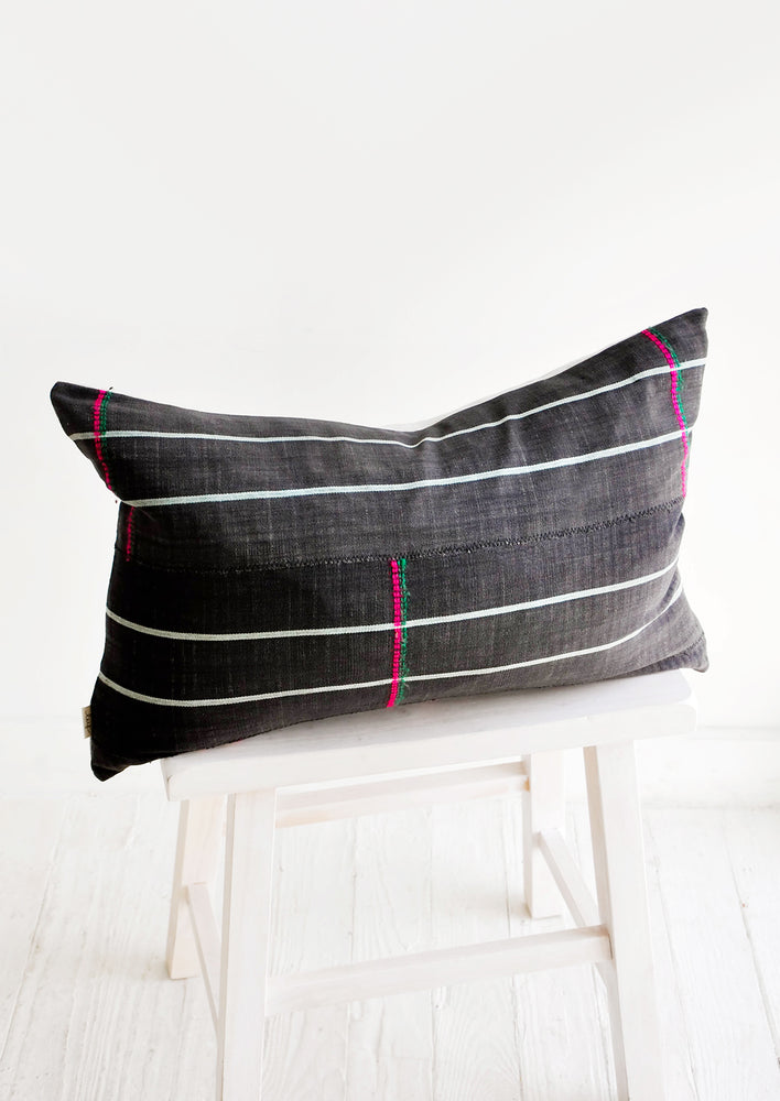 Timbuktu Embroidered Pillow in  - LEIF