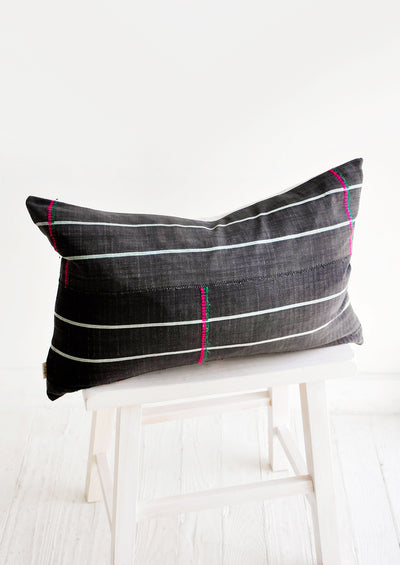 Timbuktu Embroidered Pillow