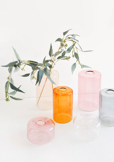 Tinted Glass Vase