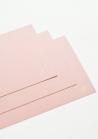 Dashes Blank Card hover