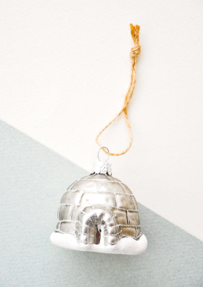 Arctic Igloo Ornament