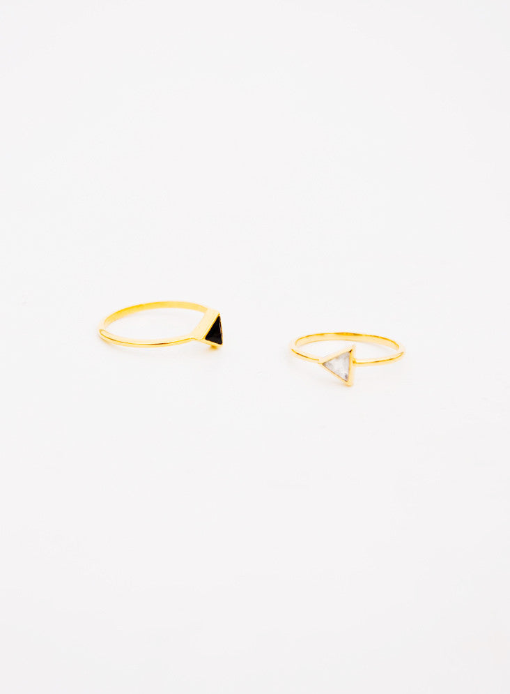 2: Gem Triangle Ring in  - LEIF