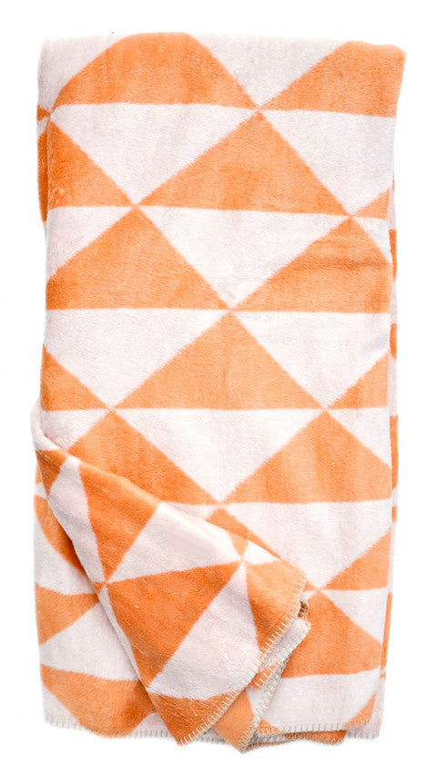 Tonal Triangles Blanket - LEIF