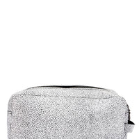 Isoline Leather Makeup Bag - LEIF