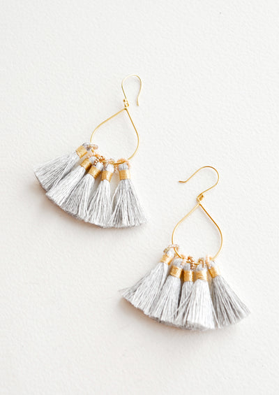 Tradewind Tassel Earrings