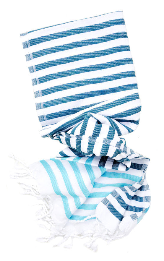 Turkish Tassel Striped Towel