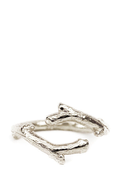 Twig Ring in Sterling Silver - LEIF