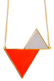 Twin Triangles Necklace - LEIF