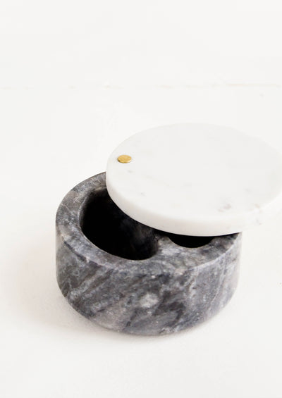 Two Tone Marble Salt Cellar hover