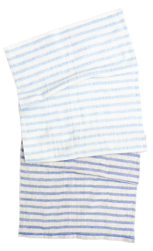 Two Tone Stripe Hand Towel - LEIF