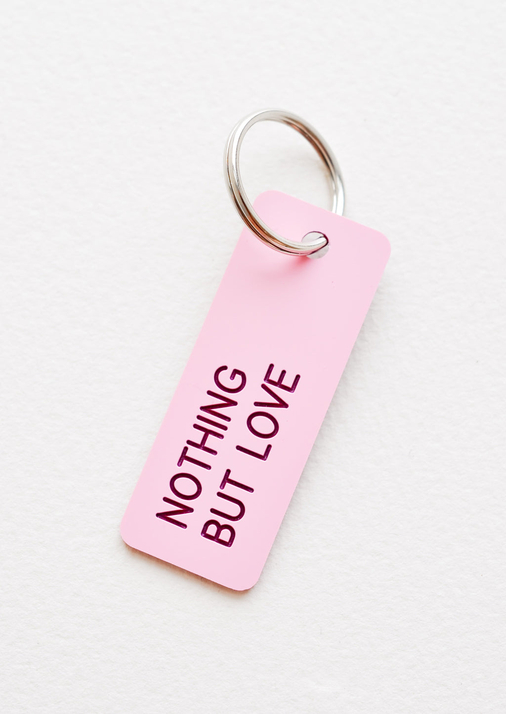 Words of Wisdom Keychain in Nothing But Love - LEIF