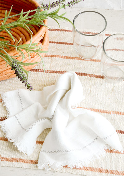 Color Grown Cotton Placemat hover