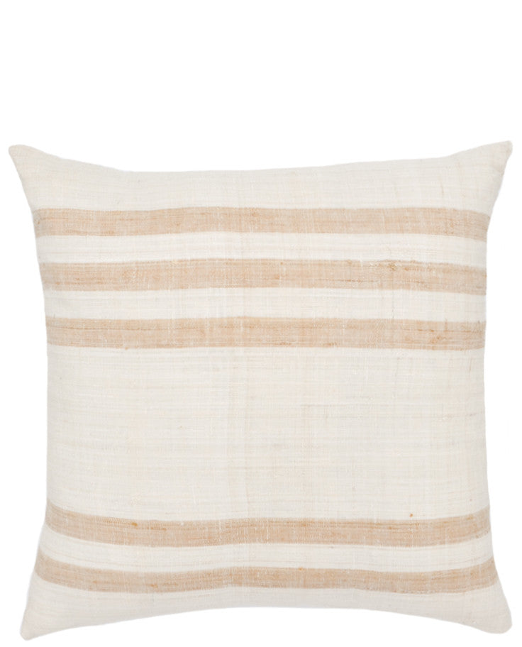 "Villa Stripe Pillow, 18"" - LEIF"