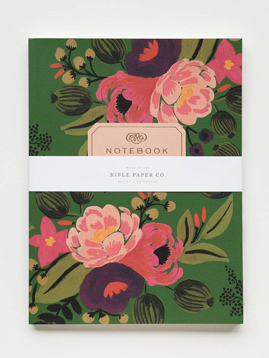 Vintage Blossoms Notebook Set