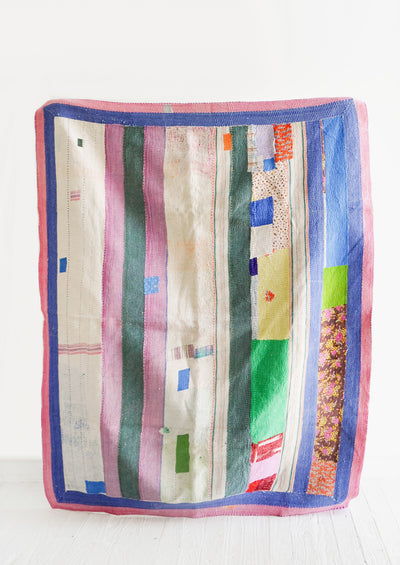 Vintage Patchwork Quilt No. 8 in  - LEIF