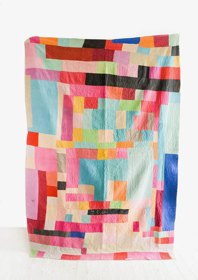 Vintage Patchwork Quilt No. 21 in  - LEIF