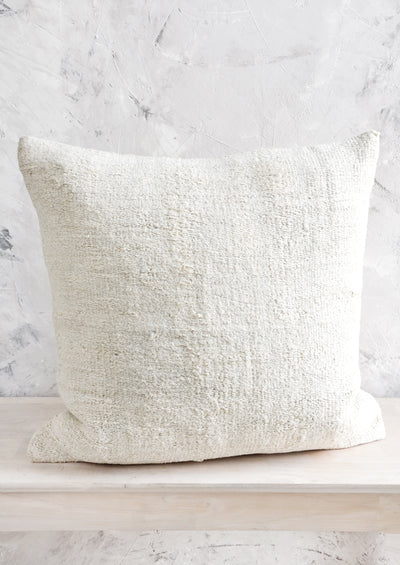 Vintage Natural Hemp Pillow