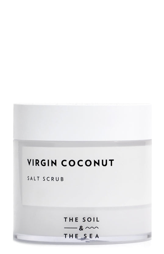 Virgin Coconut Salt Scrub - LEIF