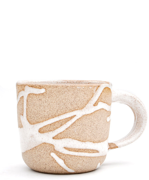 White: Wabi Sabi Mug in White - LEIF