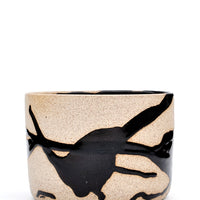 Black: Wabi Sabi Planter in Black - LEIF