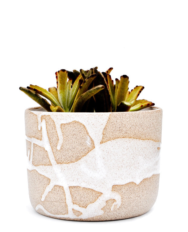 White: Wabi Sabi Planter in White - LEIF