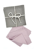 Stone Washed Linen Napkin Set - LEIF