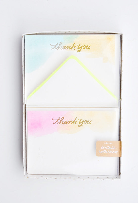 Washed Watercolor Card Set