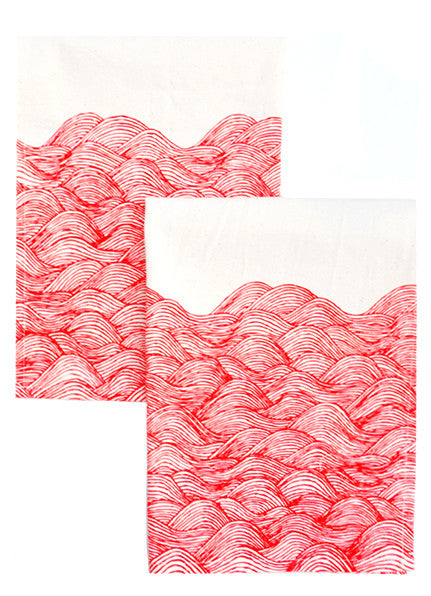 Waves Napkin Set - LEIF
