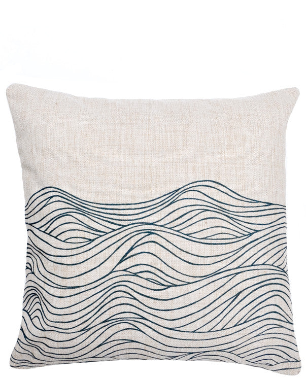 Waves Pillow - LEIF
