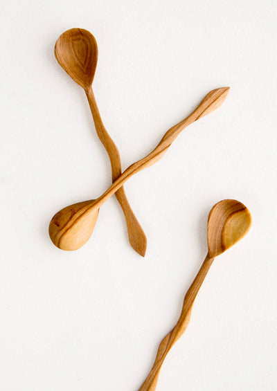 Wavy Wooden Spoon