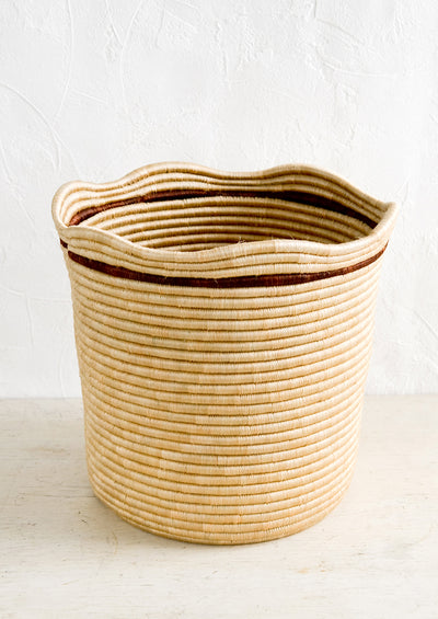 Wavy Sweetgrass Basket