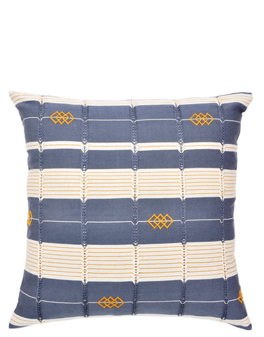 "Wayfarer Stripe Pillow, 18"" - LEIF"