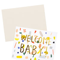 3: Playful Shapes Baby Card in  - LEIF