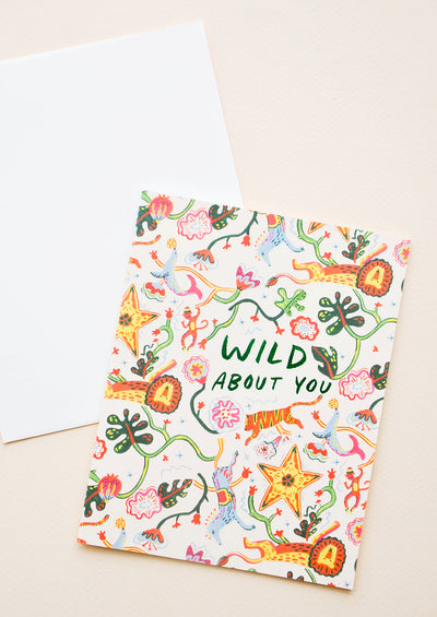 Wild About You Card hover