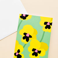 Wild Botanica Notecard in Pansy - LEIF