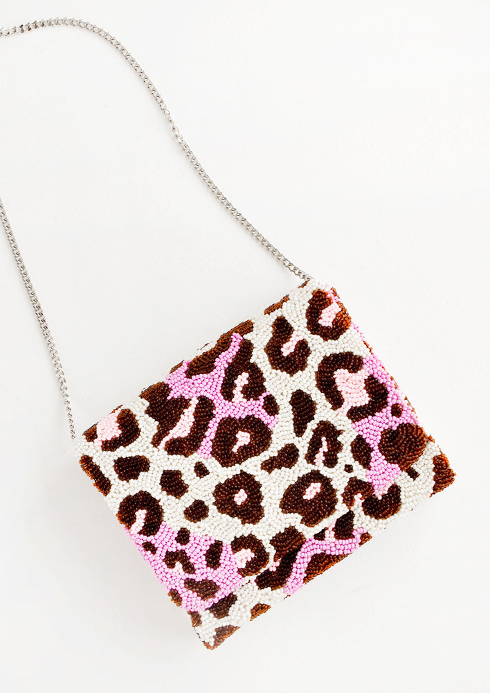 2: Wild Child Beaded Box Clutch in  - LEIF