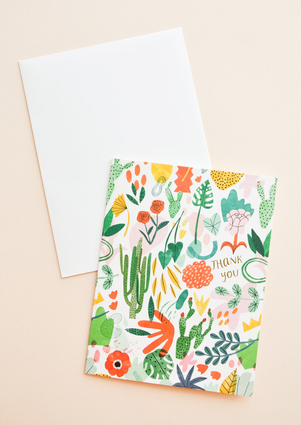 1: Wild Plants Thank You Card in  - LEIF