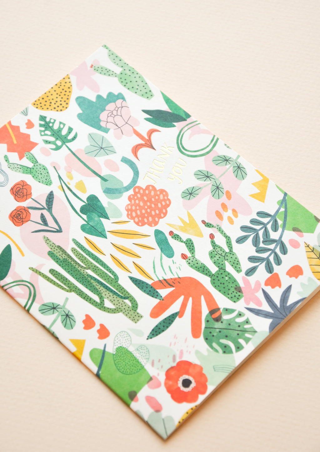 2: Wild Plants Thank You Card in  - LEIF