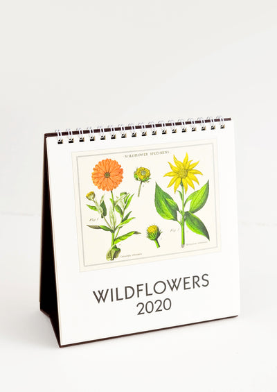 Wildflowers 2020 Desk Calendar